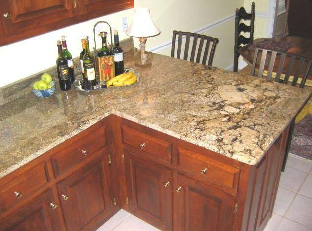 While there are many options available, granite counters