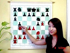Ho Math and Chess student