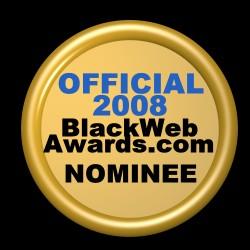 Black Web Award Nominee Badge