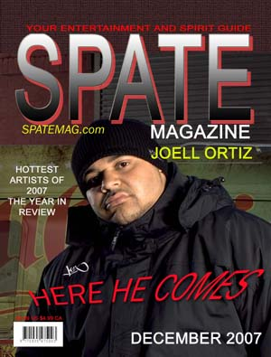 Joell Ortiz on cover of SPATE