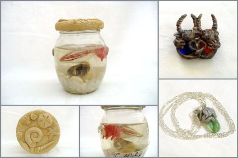 Sculpture and Jewelry Samples