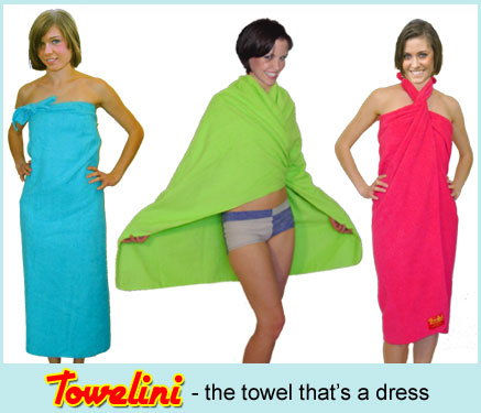 A sarong, robe, dress, beach blanket and travel towel all rolled into one