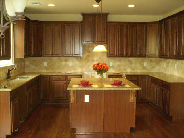 Kitchen of available house
