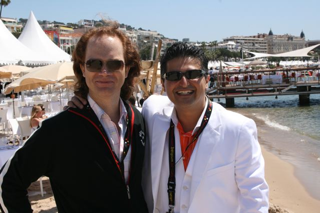 Michael Young, Director of Education with former student Kayvan Mashayekh