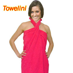Towelini beach towel dress