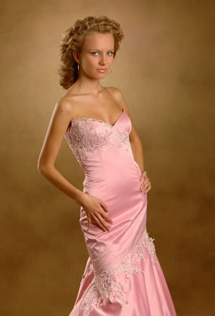 Oksana Couture evening gown