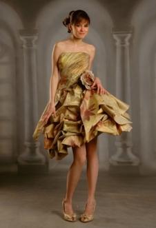 Oksana Couture cocktail dress