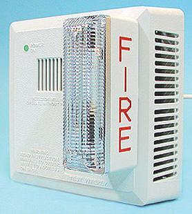 Extra Loud Smoke Detector