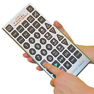 MONSTER Sized Universal Remote