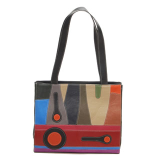 """Magical Realism"" Black Tangerine Designer Bag"