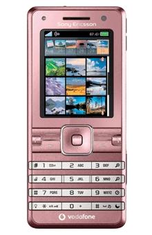 Sony Ericsson K770i Pink
