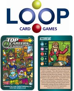 Top Careers is a card game that helps students make informed career decisions