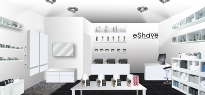 eShave New York Store Rendering