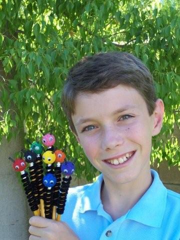 Jason O'Neill, creator of Pencil Bugs