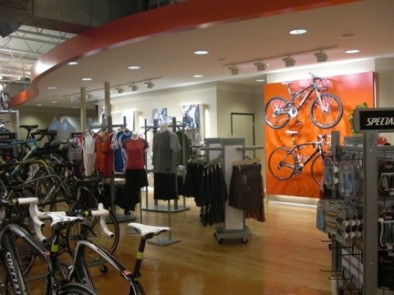 Interior of the Latest Specialized Concept Store in the US - PV Bicyle Center