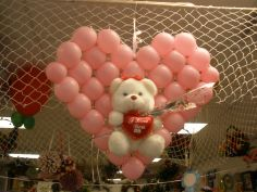 72 Beautiful Balloons and A Teddy Bear