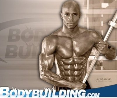 Obi Obadike, Top Cover Fitness Model and Certified Personal Trainer