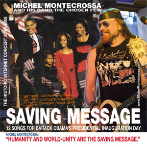 Saving Message - Michel Montecrossa's Internet Concert