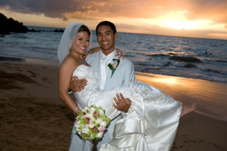 Melanie Villanueva and Edvin Talusan wedding at the Four Seasons Resort