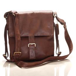 Unisex Messenger Bag By Black Tangerine