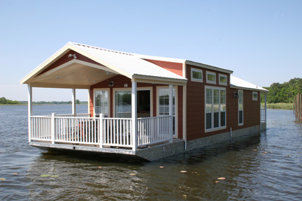 TRAILERABLE HOUSEBOAT 18 - 20 - 22 - Clark Craft Boat Plans Kits