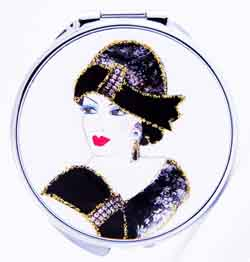 """Chatterbox """"Miranda's Gifts"""" Round Magnified Mirror"""