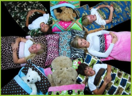 Kids Sleeping Bags - the coziest in the world found at http://www.cricketzzz.com