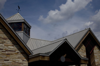 Follansbee metal roofing is durable, sustainable and visually pleasing.