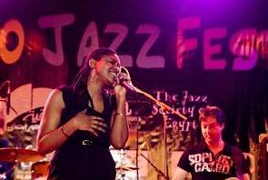 Menoosha at the Cairo Jazz Festival - by Andreas Paasch