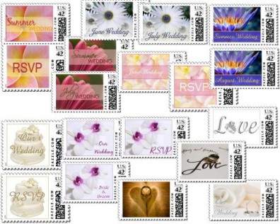 Summer Wedding Stamps