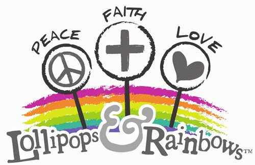 LOLLIPOPS & RAINBOWS OFFICIAL LOGO (Designed by: Terri Tex, RTPR)
