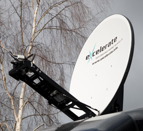 Excelerate Technology deploys satellite solutions for UK Police Forces
