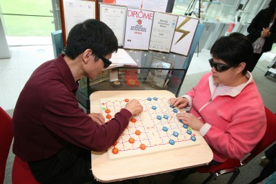 PolyU-developed Chinese chess for the Visually Impaired