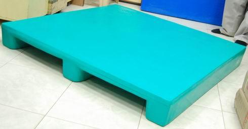 Heavy Duty Flat Top Rackable Plastic Pallet
