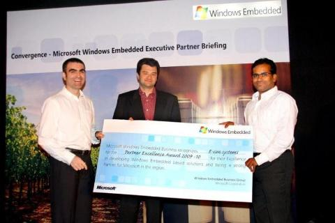 "e-con Systems' wins ""Windows Embedded Partner Excellence Award"""