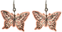 Handmade Jewelry-Wholesale Jewelry-Handcrafted Jewelry-Butterfly Unique Earrings