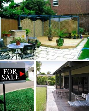 Make your property easier to sell with a professionally landscaped garden.