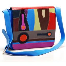 Black Tangerine Magical Realism Messenger Bag