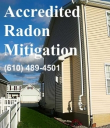 Allentown Norristown Pottstown Radon Mitigation Remediation Abatement Removal