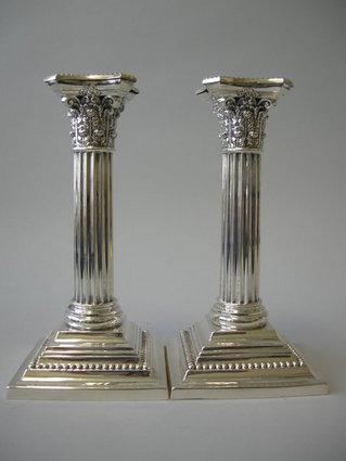 Antique Gorham Candlesticks