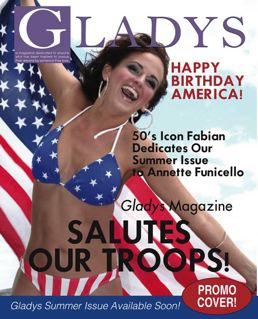 Gladys Salutes America and Annette Funicello!