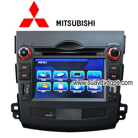 MITSUBISHI OUTLANDER Car DVD player TV GPS vehicle navigation system