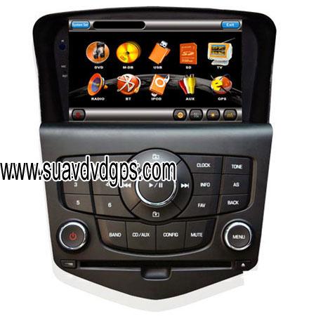 Special Cruze Car DVD player compare GPS satellite navigation 800*400 resolution