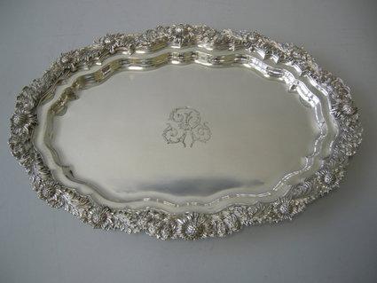 Rare Tiffany Chrysanthemum Platter Just Added To The