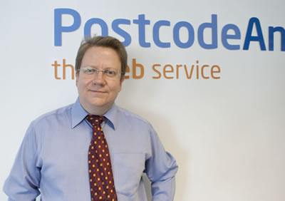 Phil Rothwell, Postcode Anywhere's new Sales Director