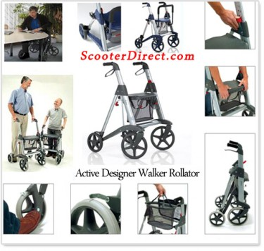 Scandinavian Designed Active Designer Walker