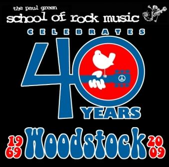 School of Rock Music Performs Tribute to Woodstock 40th Anniversary