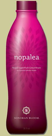 Nopalea juice from TriVita Sonoran Bloom