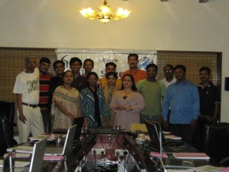 eXampleCG's SIX SIGMA GREEN BELT training program at Chennai - Group Snap