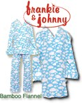 Frankie and Johnny Bamboo Flannel Pajamas